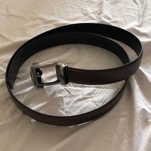 Other - Men's brown leather belt